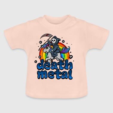 Death Metal Pony T-Shirt - Baby T-Shirt