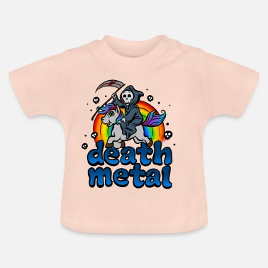 Metal Death Metal Pony T-Shirt - Baby T-Shirt