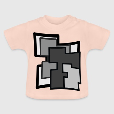 Abstraction - Baby T-Shirt