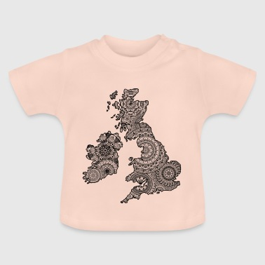UK Mandala - Baby T-Shirt