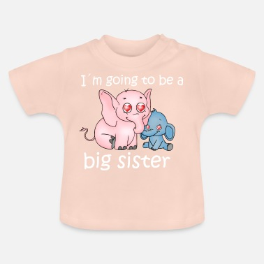 Grote grote zus - Baby T-shirt