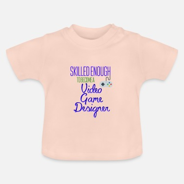Video Video spildesigner - Baby T-shirt