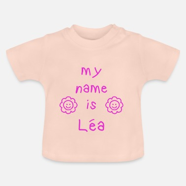 Leah LEA MY NAME IS - Baby-T-skjorte
