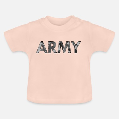 Army Army black white - Baby T-Shirt