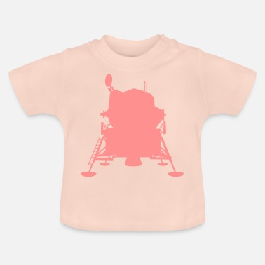 Armstrong Mondfähre • Design color changeable! - Baby T-Shirt