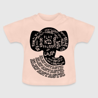 Uitsparing Elephantastic Kids - Baby T-shirt