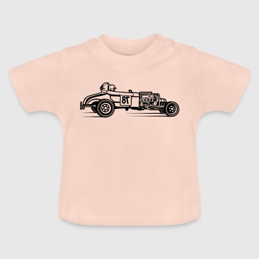 Hot Rod / Rat Rod 01_schwarz - T-shirt Bébé