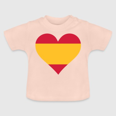 Spain A Heart For Spain - Baby T-Shirt