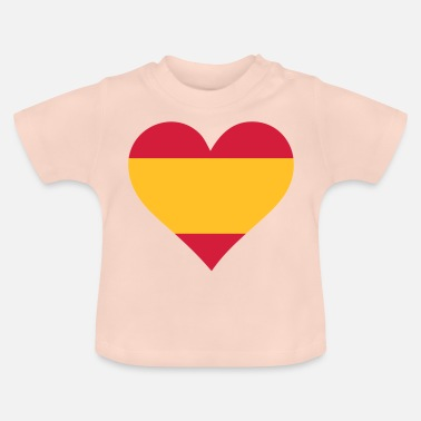 Sex A Heart For Spain - Baby T-Shirt