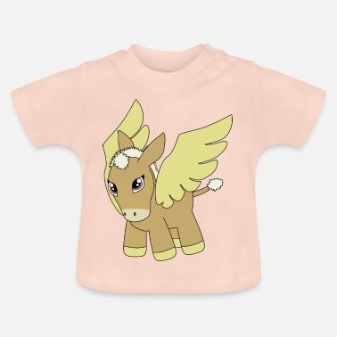 Donkey Cartoon Donkey cartoon - Baby T-Shirt