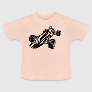 Race Car / Race Car 02_black - Baby T-Shirt