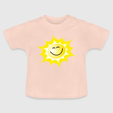 Grin Sol griner sol - Baby T-shirt