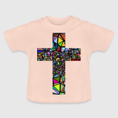 abstract Kreuz - Baby T-Shirt