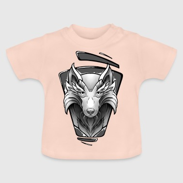 Wolf Tattoo Design - Baby T-shirt