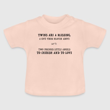 Twins are a blessing - Baby T-Shirt