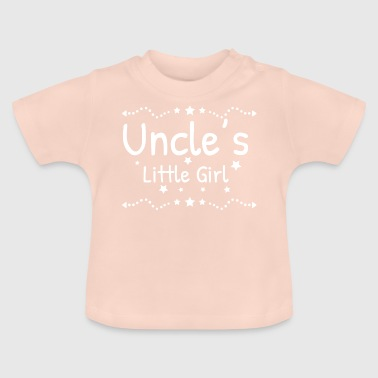 Uncle's little girl uncle godfather gift - Baby T-Shirt