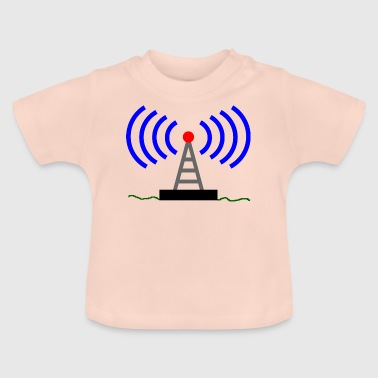 ondes tour radio Radio Communications - T-shirt Bébé
