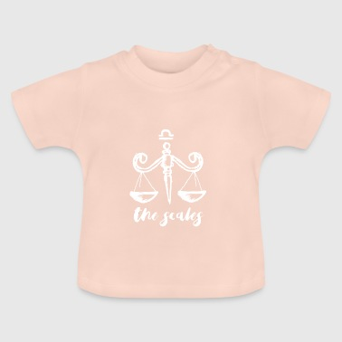 November Zodiac Zodiac Libra Libra October November gift - Baby T-Shirt