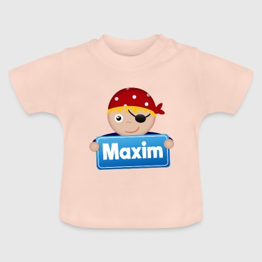 Little pirate Maxim - Baby T-Shirt
