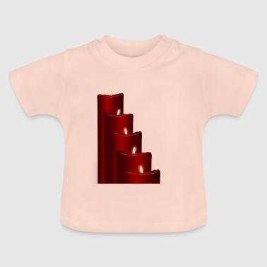 Advent candles - Baby T-Shirt