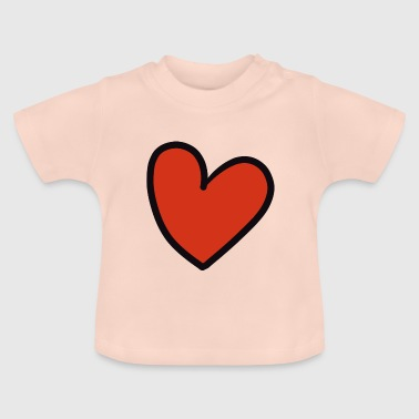 crooked heart - Baby T-Shirt