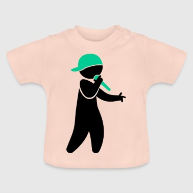 Hiphop Rapper - Camiseta bebé