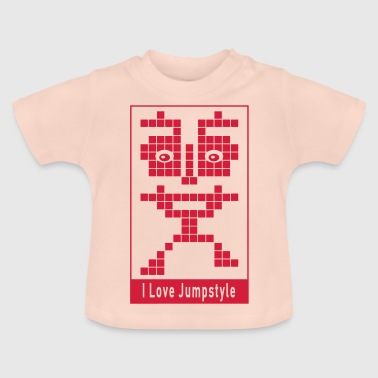 ELECTRO ☆ Electronic ☆ I Love Jumpstyle - Baby T-Shirt