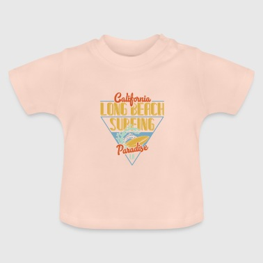 Long Beach California Long Beach Surfing Paradise - Baby T-Shirt