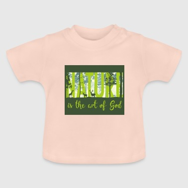 Natur - nature - Baby T-Shirt