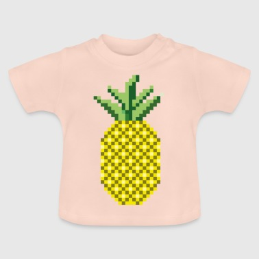 Pixelart pineapple - Baby T-Shirt