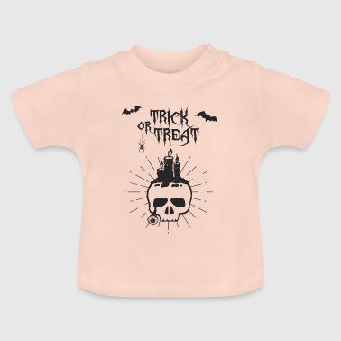 Trick or treat skull - Baby T-Shirt