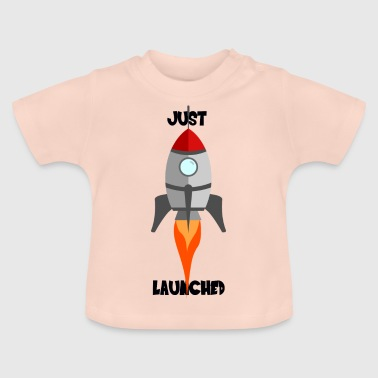 Rocket Ship - JUST LAUNCHED - JUST LAUNCHED - Baby T-Shirt