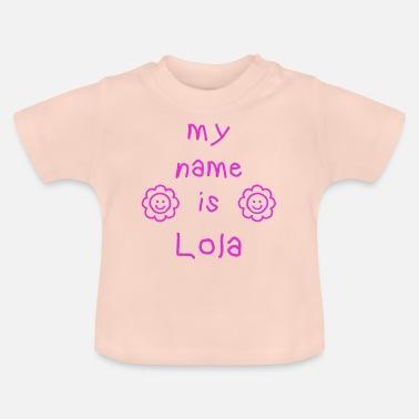 T Shirts Prénom Lola à Commander En Ligne Spreadshirt