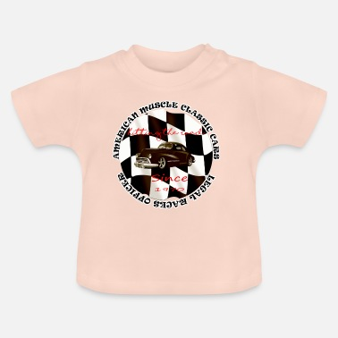 Muscle Car Amerikaanse muscle cars - Baby T-shirt