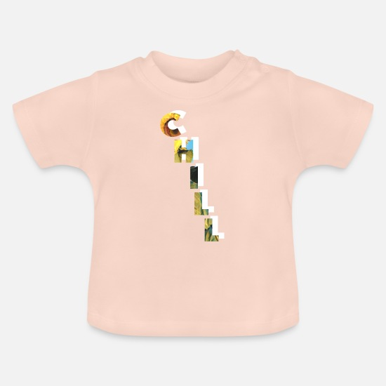 Ease Baby Clothes - Chill - Baby T-Shirt crystal pink