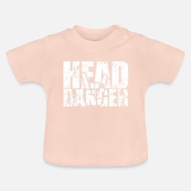 Headbang The headbanger - Baby T-Shirt
