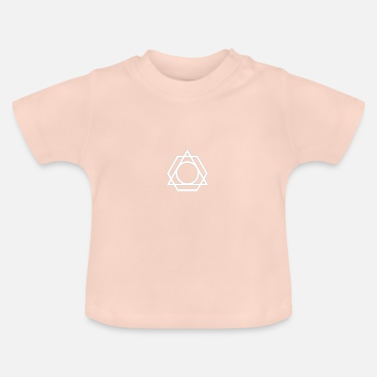 Original Baby Clothes - to form - Baby T-Shirt crystal pink