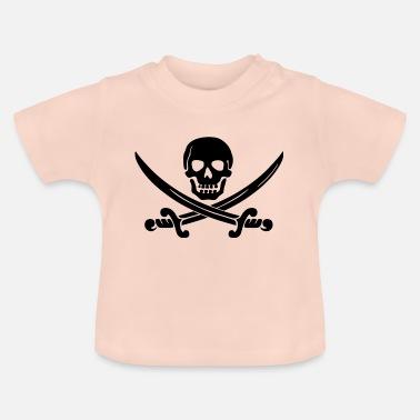 Ordina online T-shirt neonato con tema Pirata  3cd34d70e493