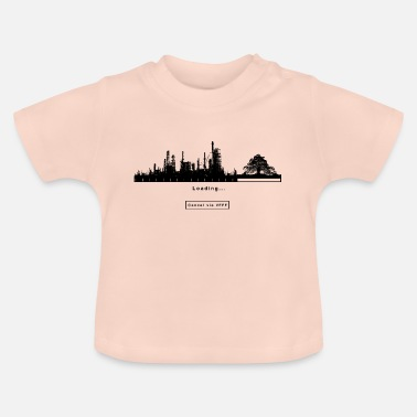 FFF Fridays For Future Green Greter Gift Eco - Baby T-Shirt