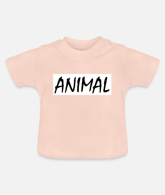 Quote Baby T-Shirts - Animal - Baby T-Shirt crystal pink