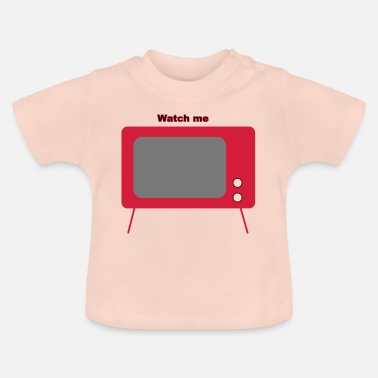 Television old television - Baby T-Shirt
