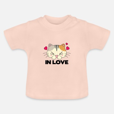 Cats In Love Cat in love - Baby T-Shirt