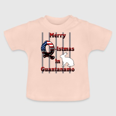 Merry Q istmas in Guantanamo - Baby T-Shirt