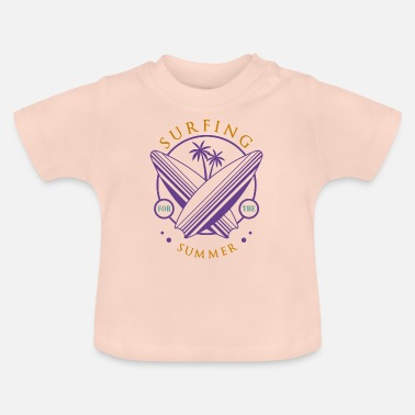 Portugal surfing - Baby T-shirt