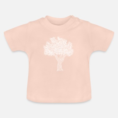 Kinky kinky tree (white) - Baby T-Shirt
