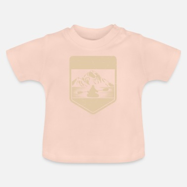 Adventure outdoor nature gift nature camping - Baby T-shirt