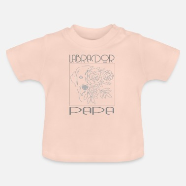 Newfoundland Labrador Retriever Labrador retriever daddy dog puppy dog - Baby T-Shirt