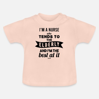 Social Profession Geriatric carers social professions - Baby T-Shirt
