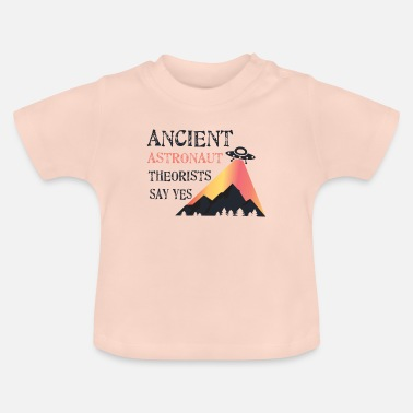 Antique UFO antique - T-shirt Bébé