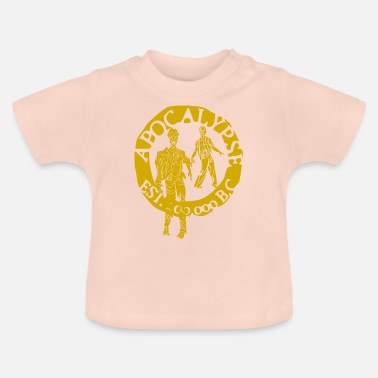 Tlc zombies goud - Baby T-shirt